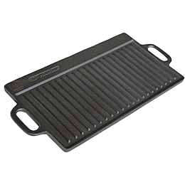 Plancha Reversible Hierro Fundido Marca Old Mountain