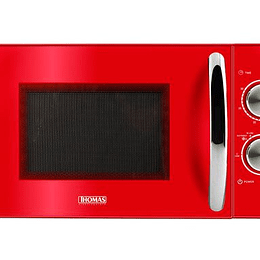 Microondas Rojo TH-20R02 Marca Thomas