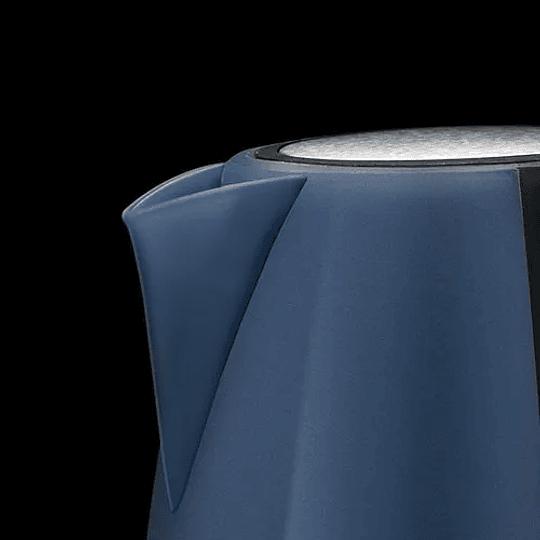 Hervidor Azul y Negro TH-4800 Marca Thomas