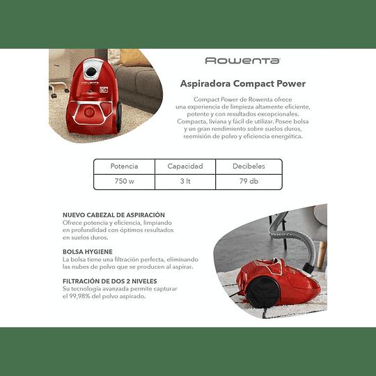 Aspiradora Compact Power Marca Rowenta