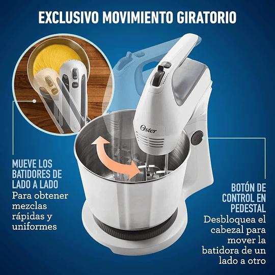 Batidora De Mano Y Pedestal Oster Acción Giratoria Fpsths361