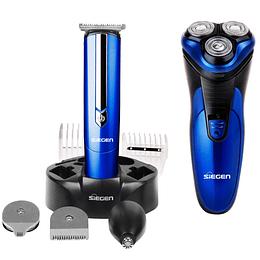 Afeitadora y Multistyler SG-8440 Marca Sieguen