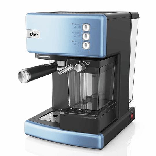 Cafetera De Espresso Oster Primalatte BVSTEM6603CC Azul