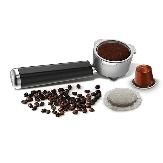 Cafetera de vapor espresso y cappuccino BVSTECMP65 Marca Oster
