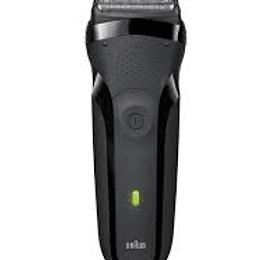 Afeitadora Braun Series 3 300s Negra