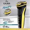 Afeitadora Eléctrica Gama Gsh 886 Sport Carga Usb Lavable
