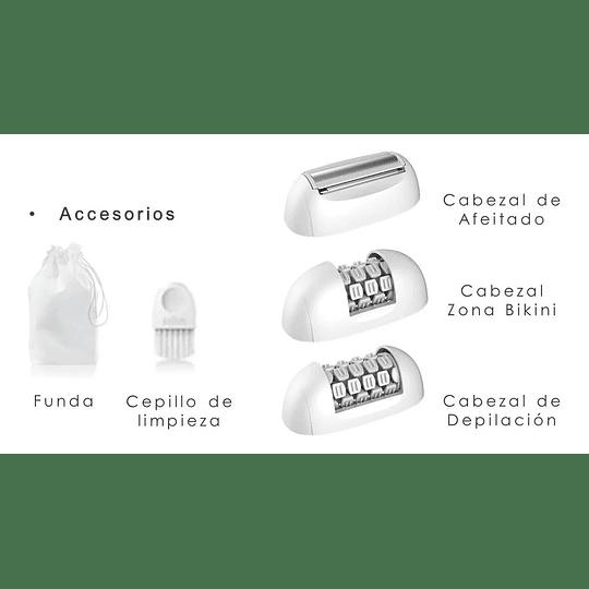 Depiladora Gama Skin Pro 2 3 Cabezales, 36 Pinzas