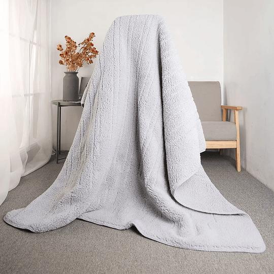 Manta Térmica Thorben Multiuso Thermic Blanket Gris