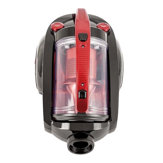 Aspiradora Somela Sin Bolsa 2,5 Litros Cyclonic Adventage Roja CA4000N