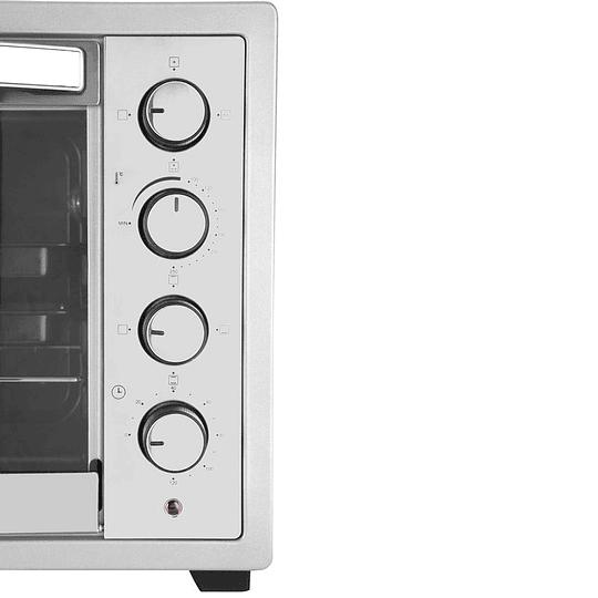 Horno Eléctrico Somela 60 Litros Steel Oven
