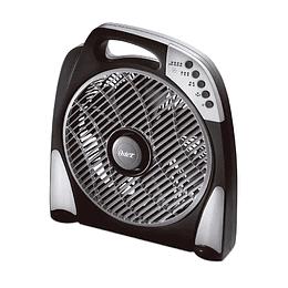 Ventilador de piso Oster® con programas de funcionamiento y rejilla rotativa 1696