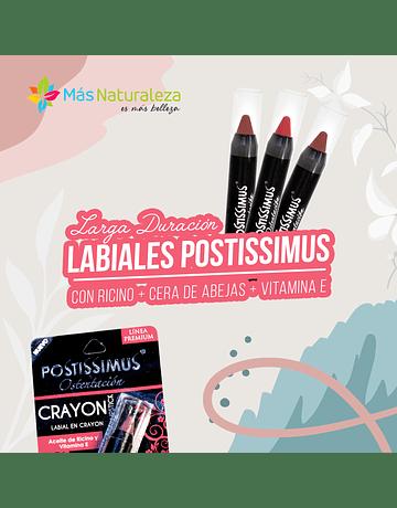 Pack 3 Labiales Crayon - Postissimus