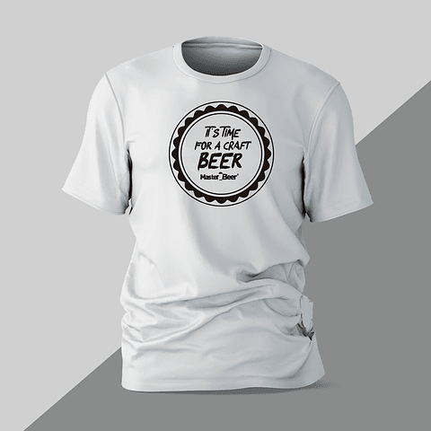 Camiseta - Hombre - Craft Beer Time