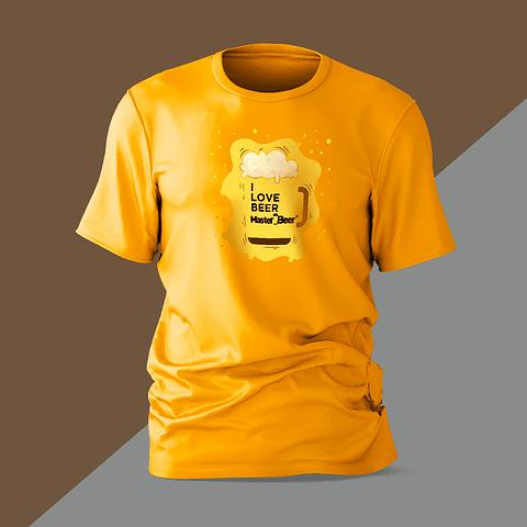 Camiseta - Hombre - I Love Beer
