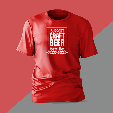 Camiseta - Hombre - Support Craft Beer