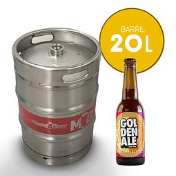 Barril x 20 litros de Golden Ale