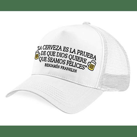 Gorra - Malla - Benjamín Franklin
