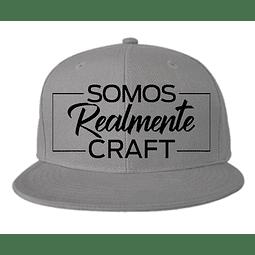 Gorra - Plana - Somos realmente Craft