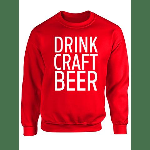 Saco cuello redondo - Drink Craft Beer