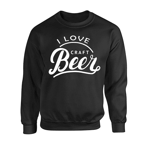 Saco cuello redondo - I love craft beer