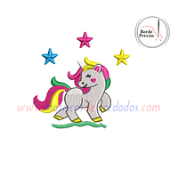MM17YF- Unicornio Estrellas