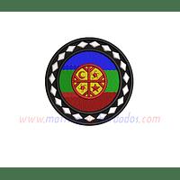 XP88SB - Bandera Mapuche Circular