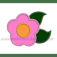 UQ17LF - Flor Apliqué