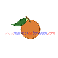QR82NF - Naranja apliqué