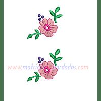 VU84TP - Dos flores