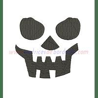 HQ84LK - Cara de Calavera Halloween