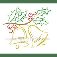 QP29SP - Adorno navidad campanas