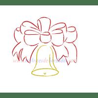 PL55ZB - Adorno Navidad campana