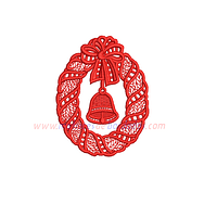 EB87JP - adorno de navidad campana en FSL