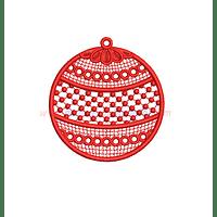 RG78YV - Bola de navidad en FSL