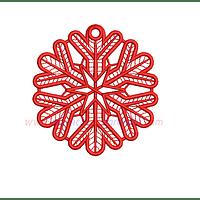 AF63UD - Copo de nieve de navidad en FSL