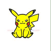 EZ71TB - Pikachu en Apliqué
