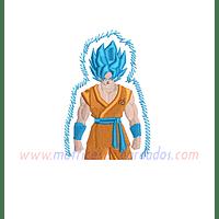 LH35BK - Goku Super Saiyajin Blue