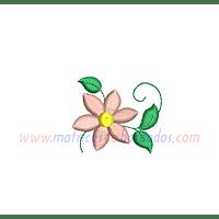 KM83VW - Flor con 6 pétalos