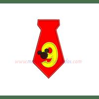 FE65WU - Numero nueve Mickey