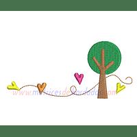 NM15ZM - Árbol y corazones
