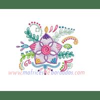 QA13LS - Flores coloridas