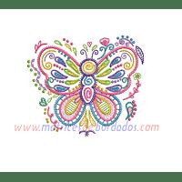 ZY18GG - Mariposa colorida
