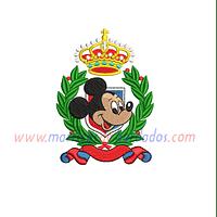 NJ71ZW - Mickey corona