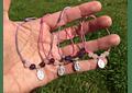 Pulseras medallita virgen de los rayos niñita