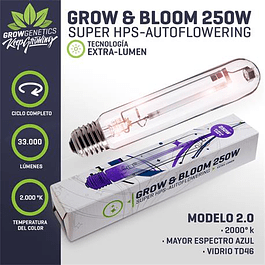 Ampolleta Grow & Bloom 250W - Grow Genetics