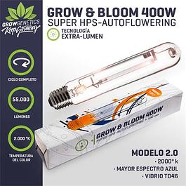 Ampolleta Grow & Bloom 400W - Grow Genetics