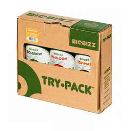 TRY PACK INDOOR 750ML BIOBIZZ