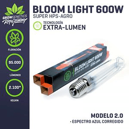 Ampolleta Bloom Light 600w Grow Genetics