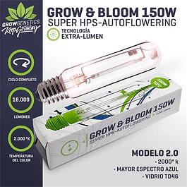 Ampolleta Grow & Bloom 150W - Grow Genetics