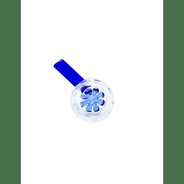 BONGLAB QUEMADOR REJILLA PYREX BLUE 14MM CIRCULAR